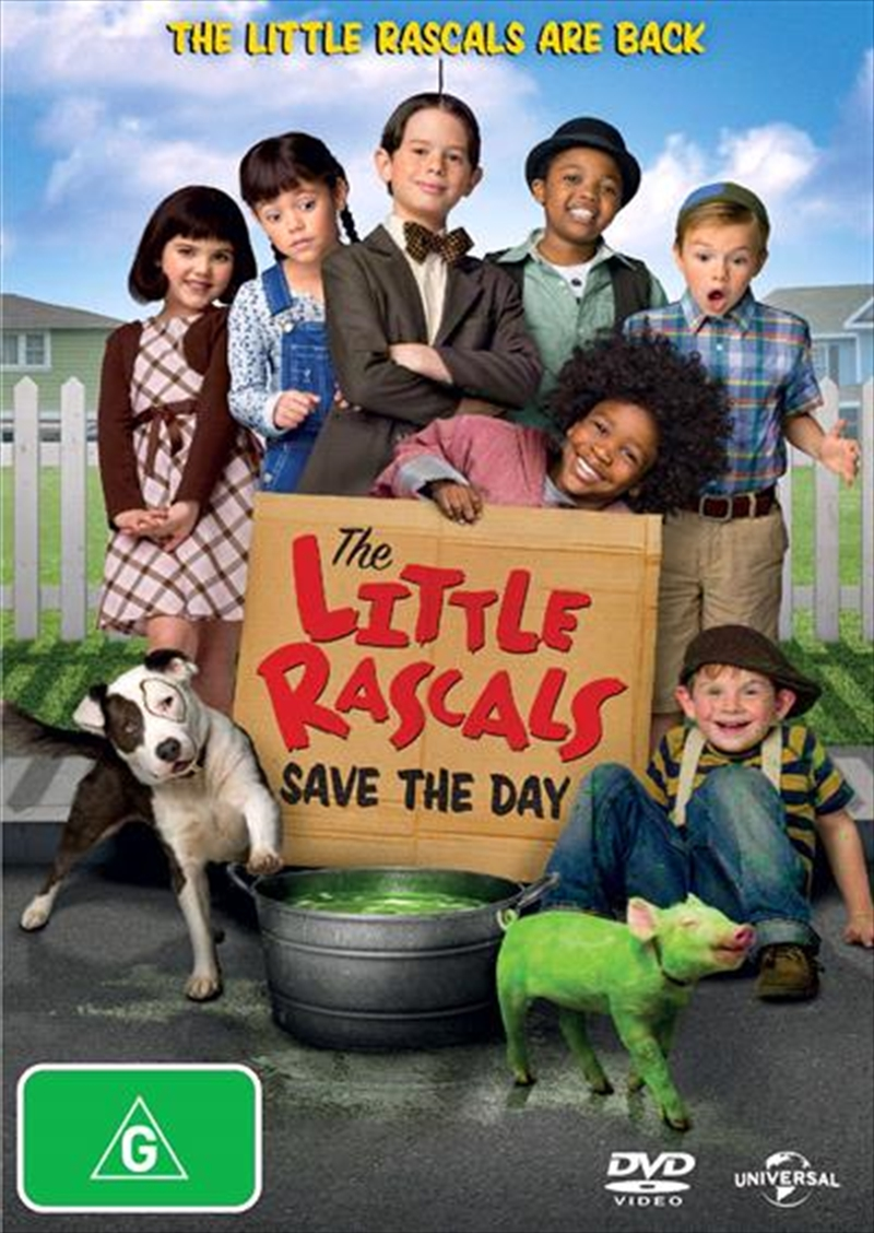 Little Rascals Save The Day | DVD