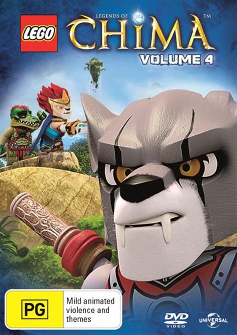 LEGO - Legends Of Chima - Vol 4 | DVD
