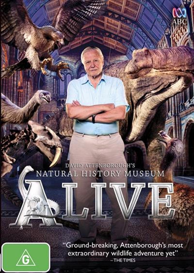 David Attenborough's Natural History Museum Alive | DVD