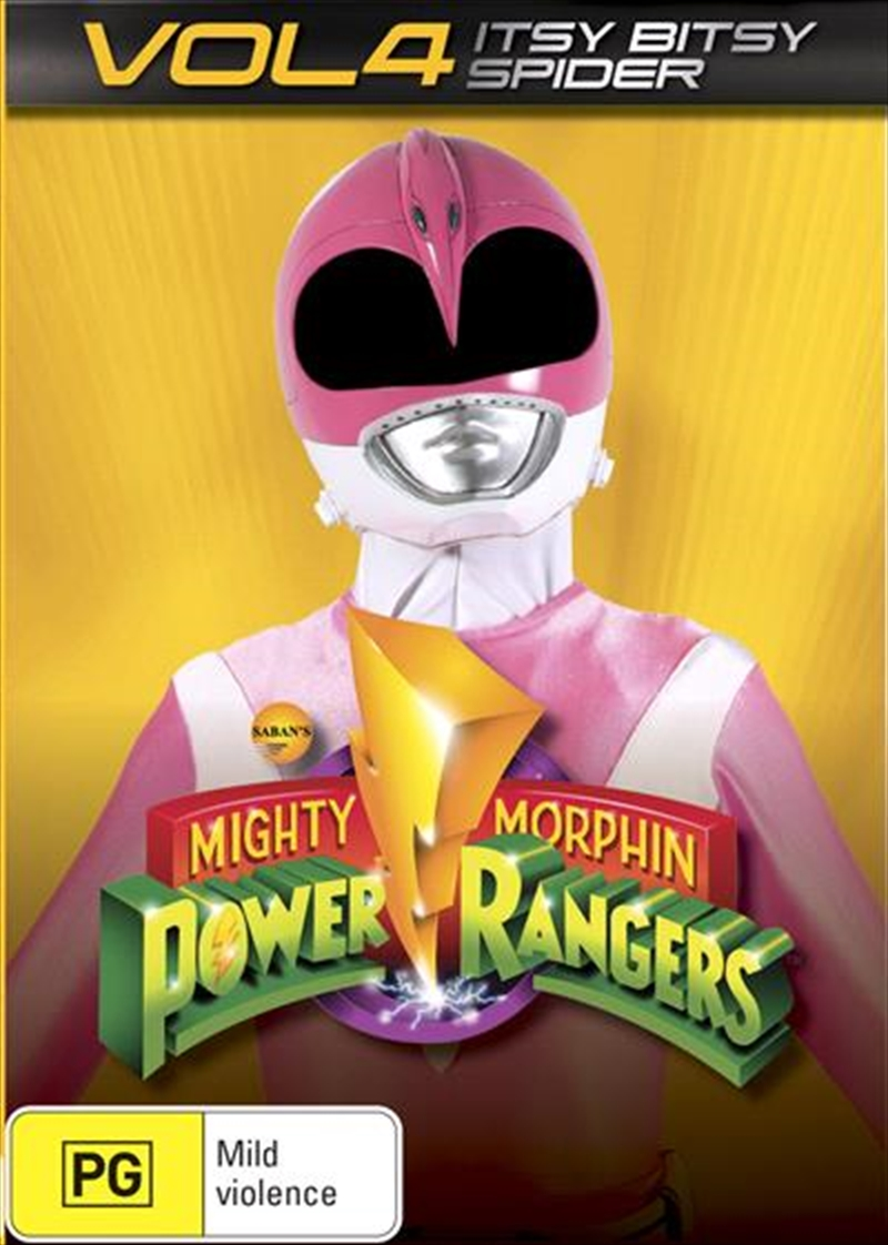 Mighty Morphin Power Rangers - Vol 4 | DVD