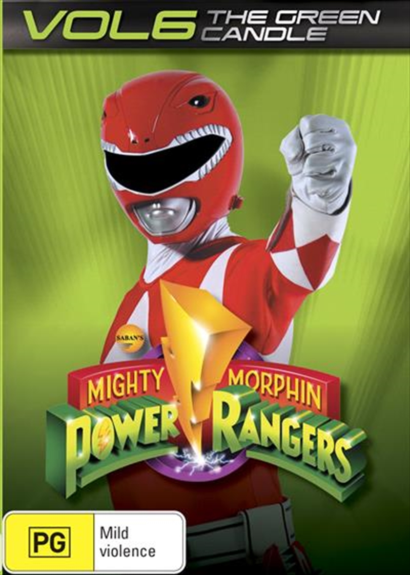 Mighty Morphin Power Rangers - Vol 6 | DVD