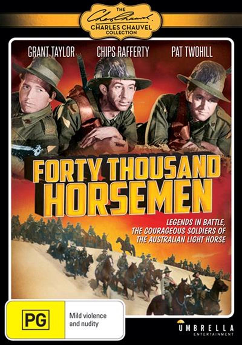 Forty Thousand Horsemen | DVD