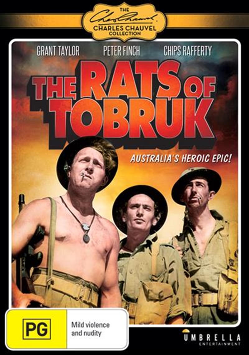 Rats Of Tobruk, The | DVD