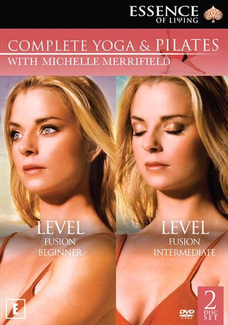Michelle Merrifield Yoga & Pilates Collection | DVD