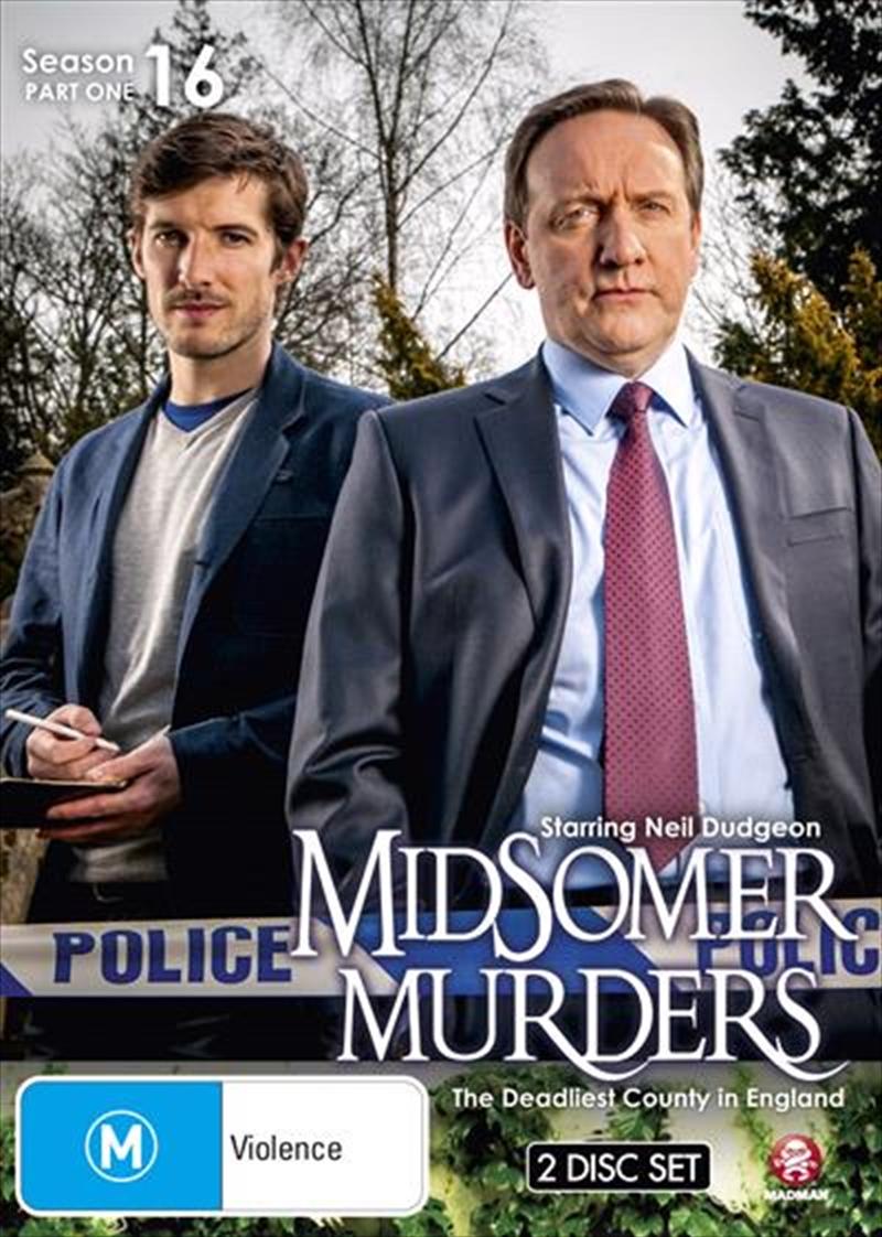 Midsomer Murders - Season 16 - Part 1 | DVD