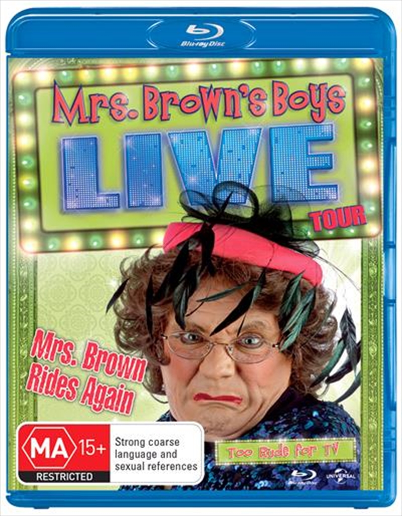 Mrs Brown Rides Again - Live Tour | Blu-ray