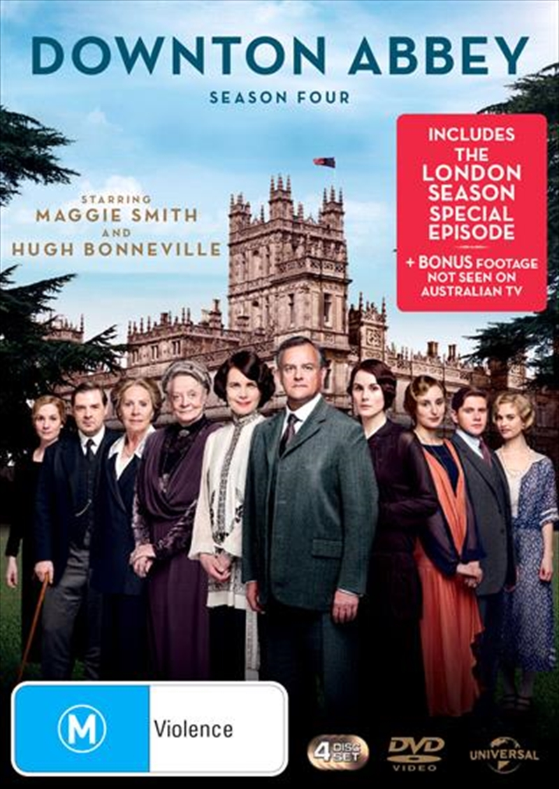 Downton Abbey - Season 4 | DVD