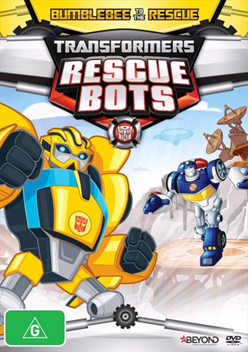 Transformers Rescue Bots - Bumblebee To The Rescue | DVD