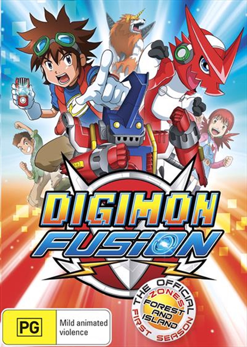 Digimon Fusion - Season 1 | DVD