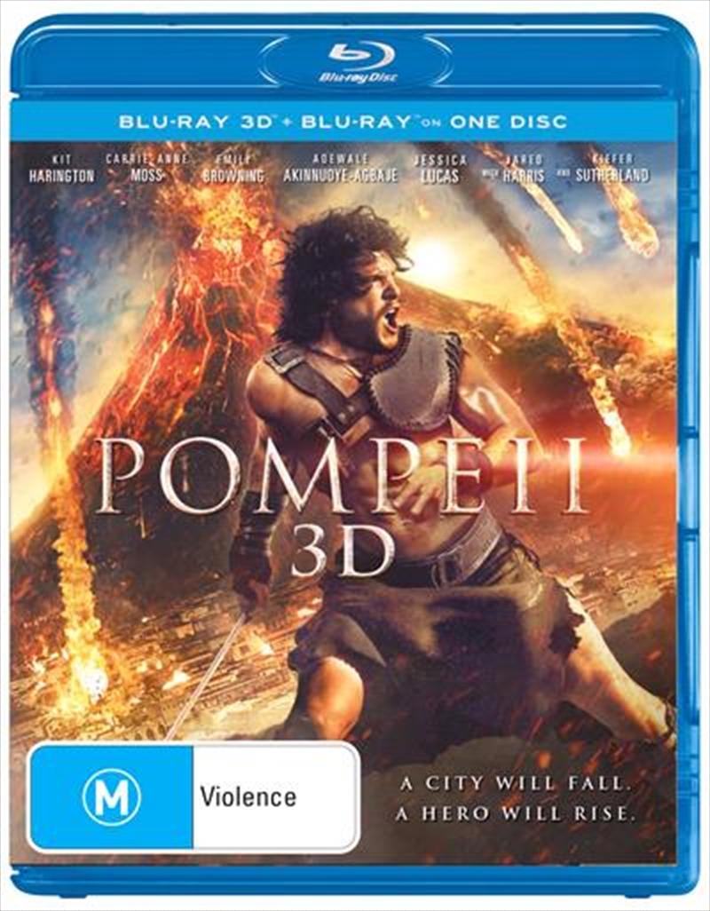 Pompeii | Blu-ray 3D