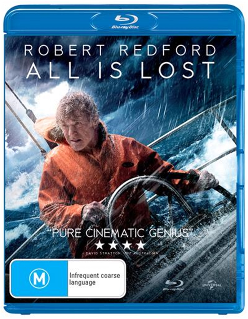 All Is Lost | Blu-ray