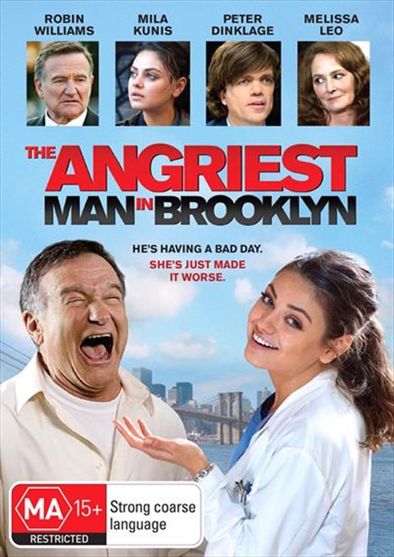 Angriest Man In Brooklyn | DVD