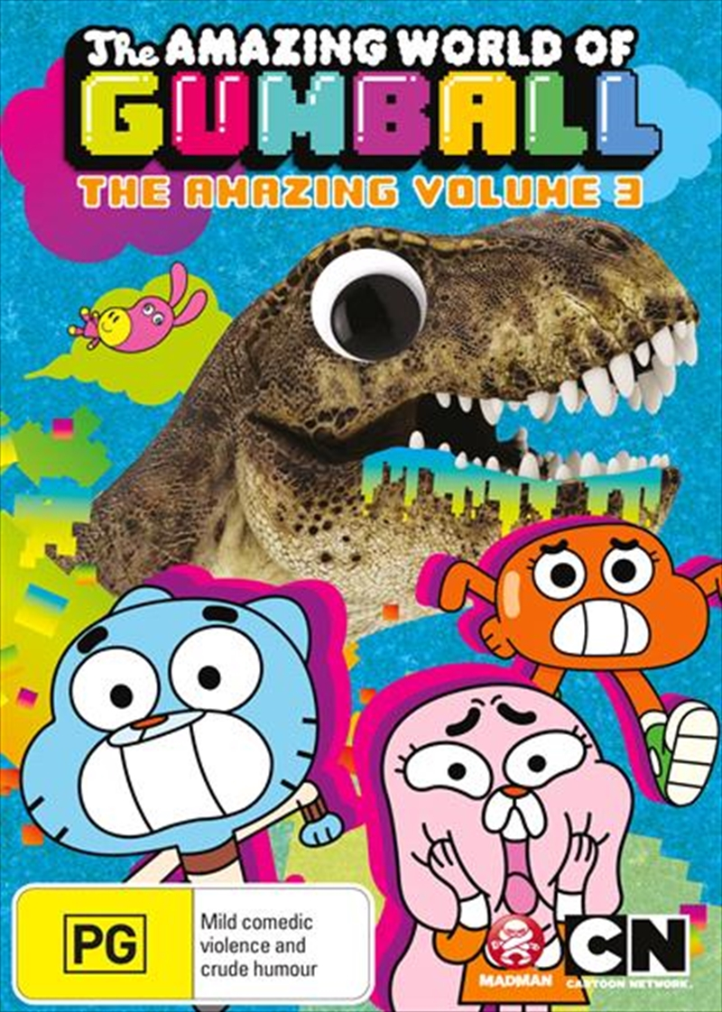 Amazing World Of Gumball - Vol 3, The | DVD