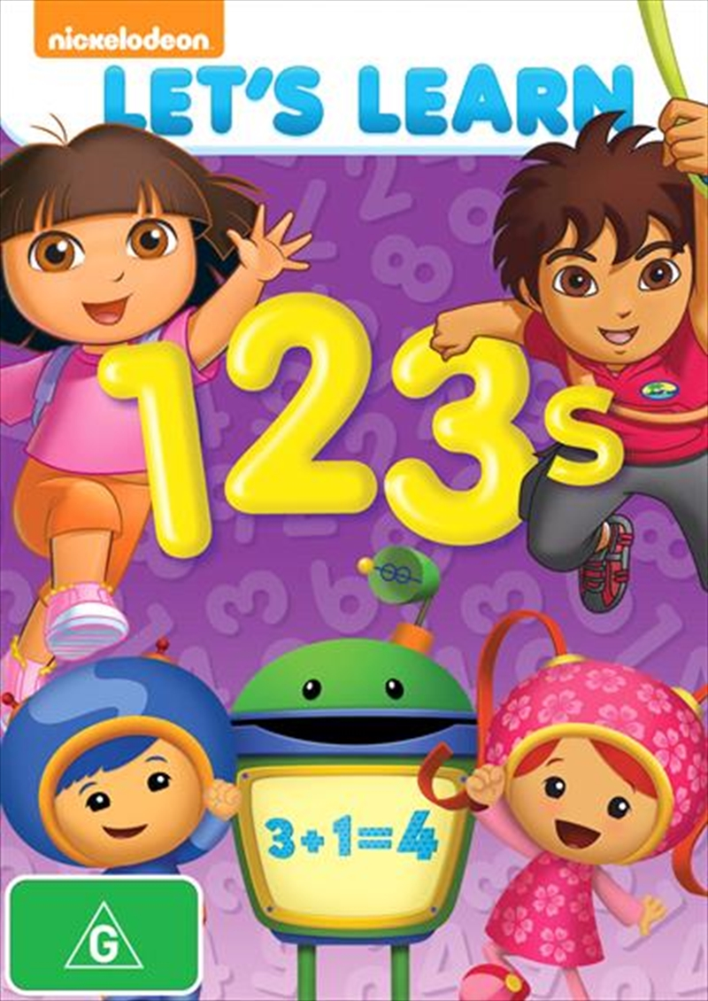 Let S Learn 1 2 3s Animated Dvd Sanity