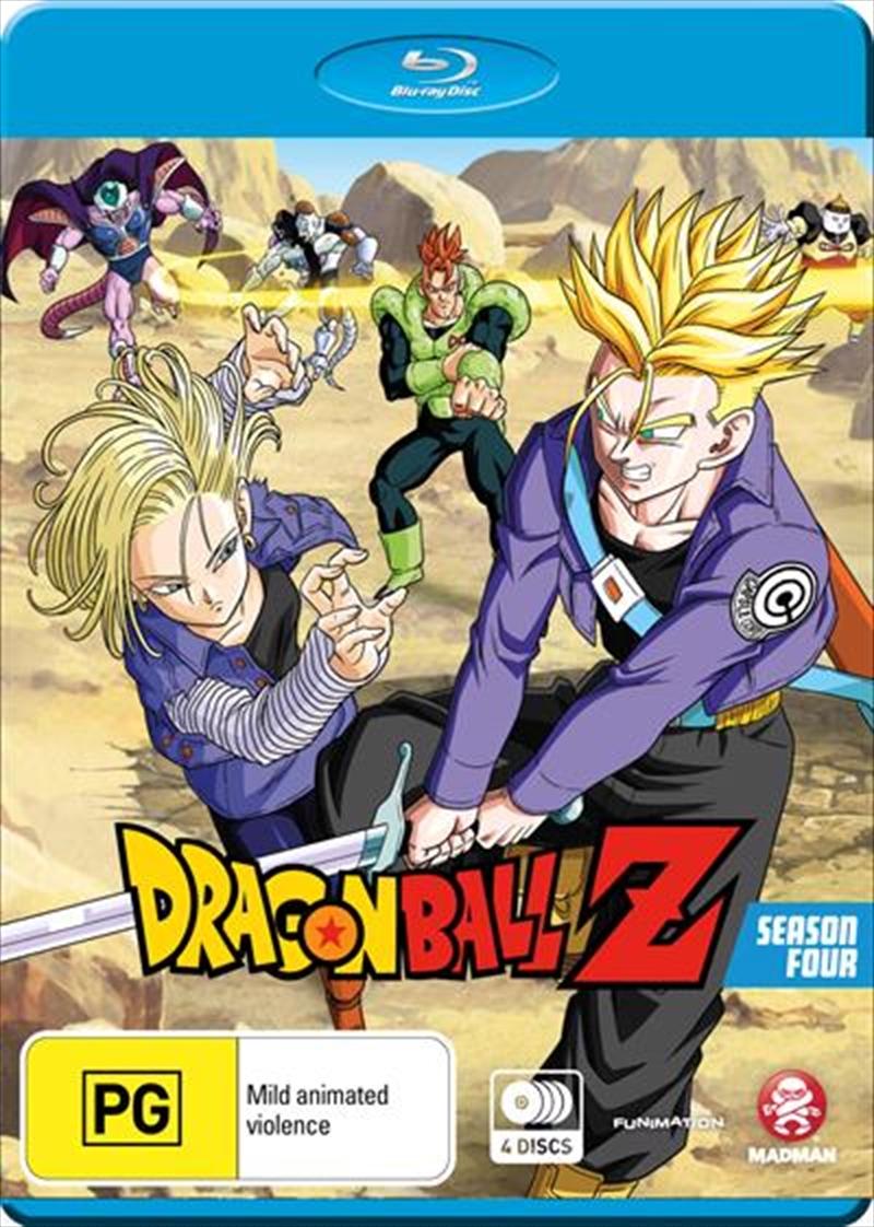 Dragon Ball Z - Season 4 - Remastered - Uncut   Blu-ray