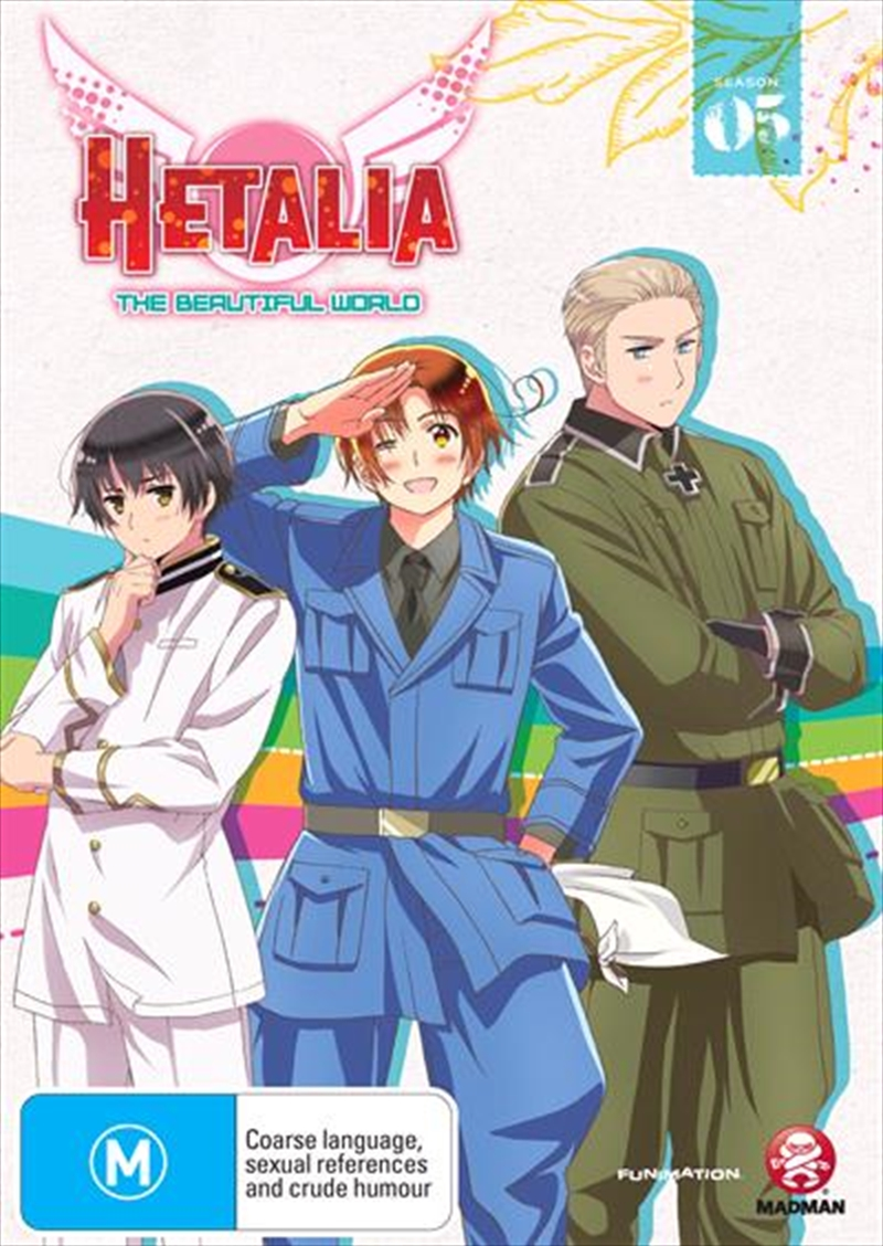 Hetalia - The Beautiful World - Season 5   DVD