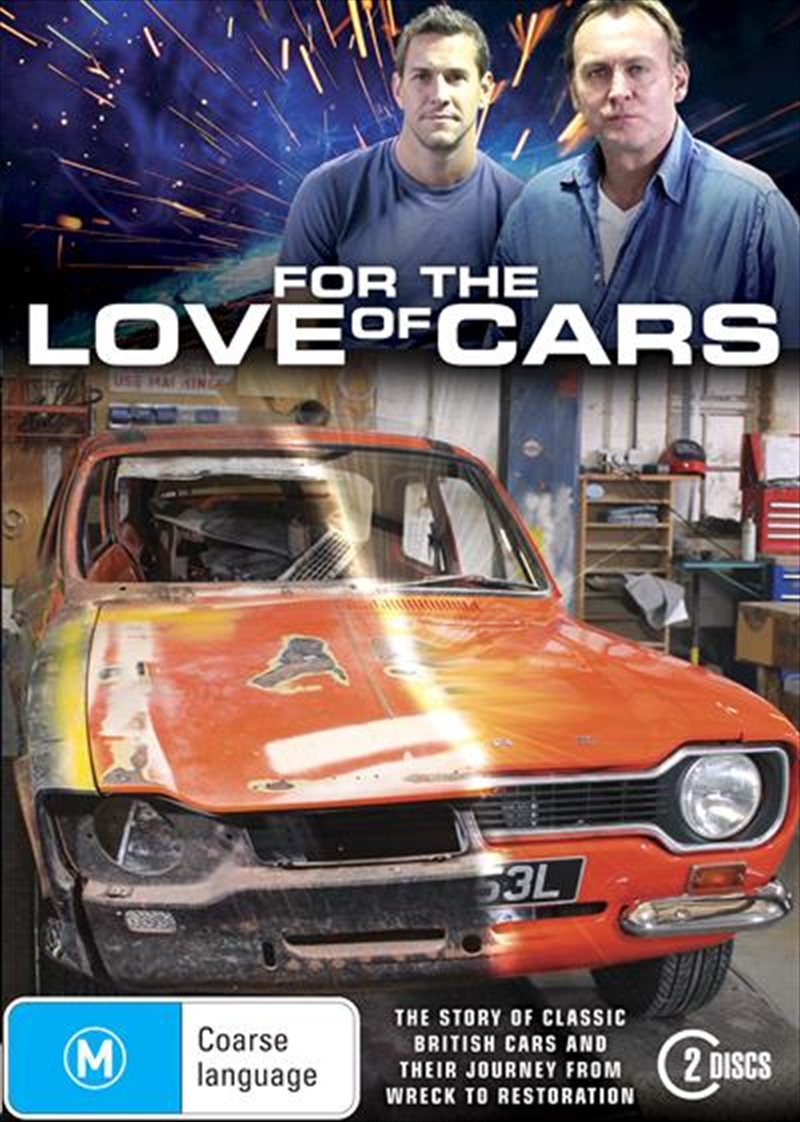For The Love Of Cars | DVD