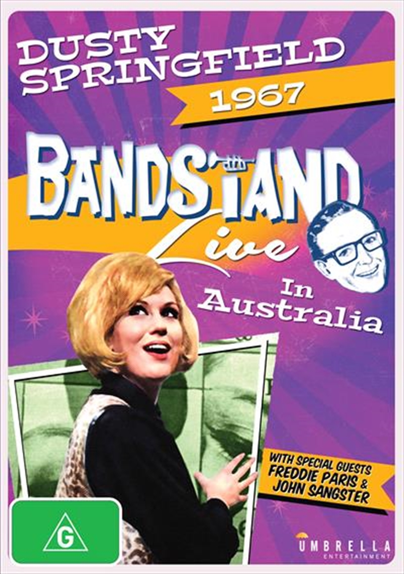 Bandstand Special - Dusty Springfield Live In Australia 1967 | DVD