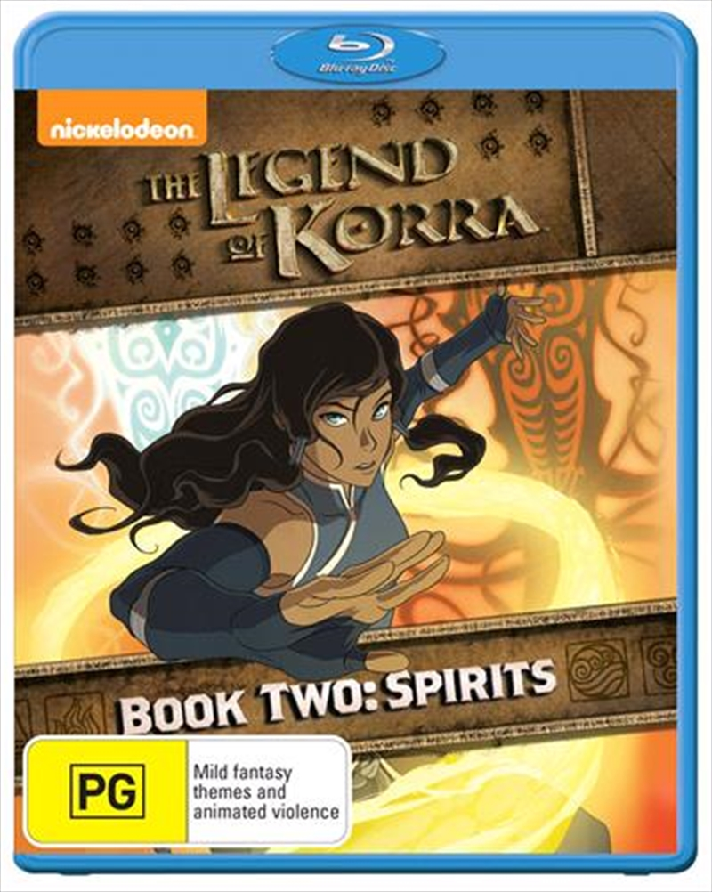 Legend Of Korra - Spirit - Book 2   Blu-ray