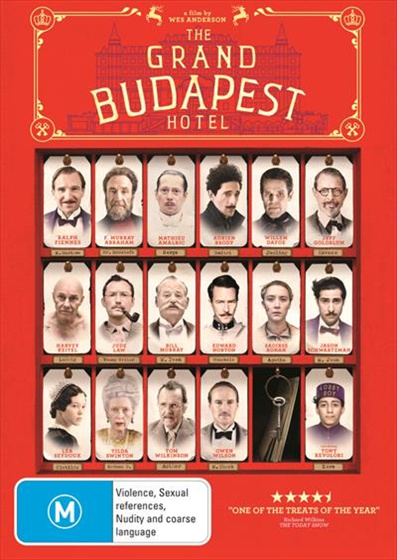 Grand Budapest Hotel, The | DVD