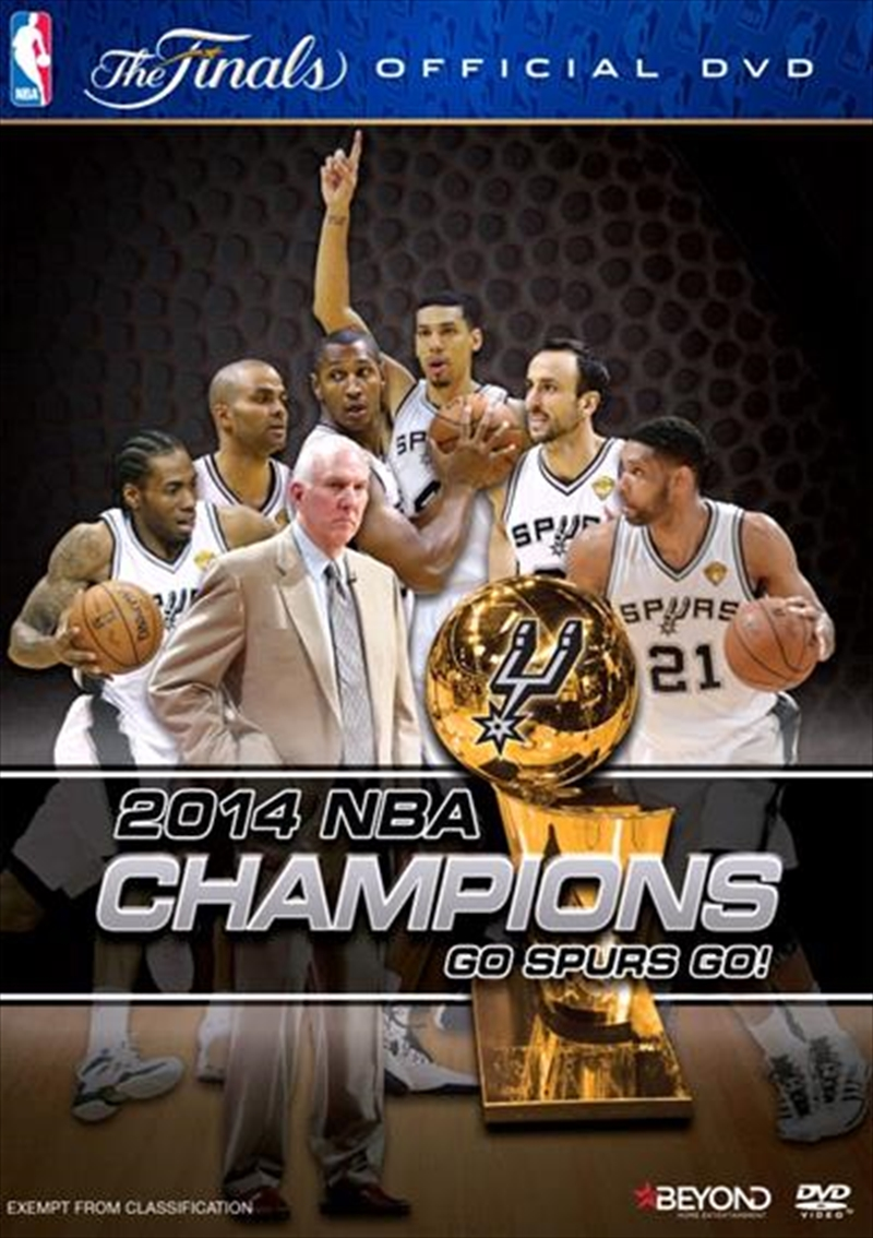 NBA - 2014 Champions Official Finals Film | DVD