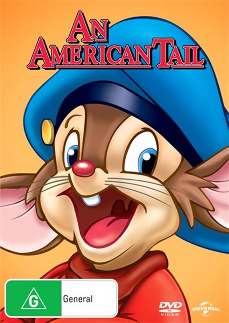 An American Tail Big Face | DVD