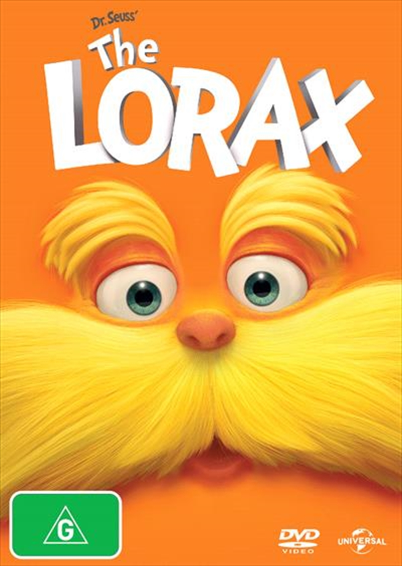 Dr. Seuss' The Lorax Big Face | DVD