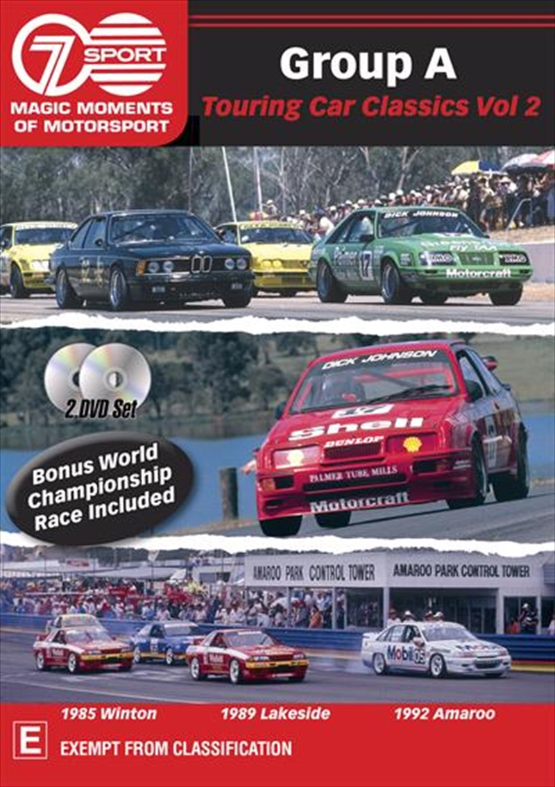 Magic Moments Of Motorsport - Group A Classics - Vol 2 | DVD