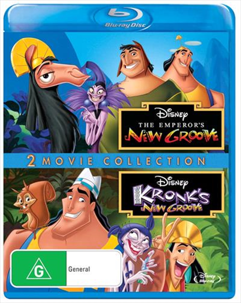 Emperor's New Groove / Kronk's New Groove | Blu-ray