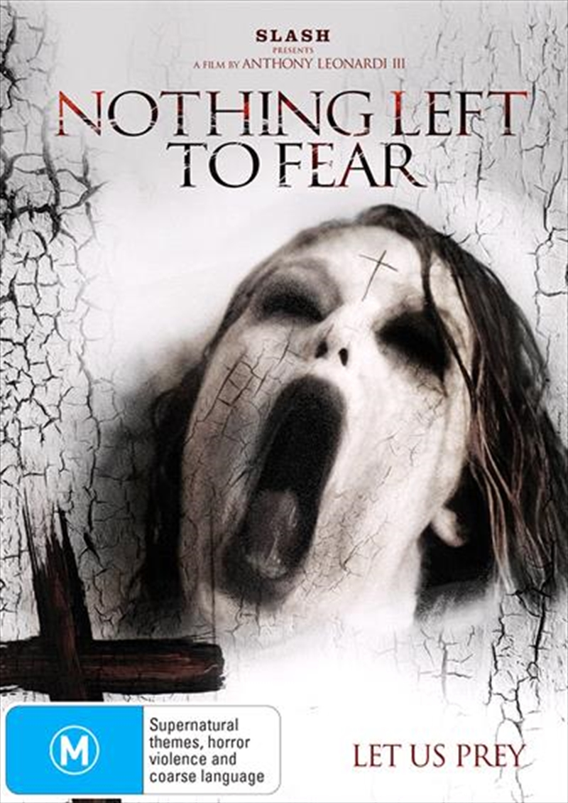 Nothing Left To Fear | DVD
