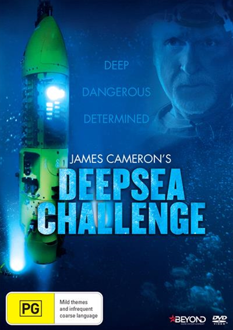 James Cameron's Deep Sea Challenge | DVD