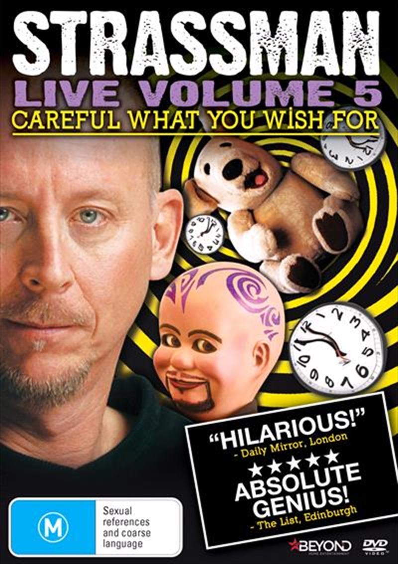 Strassman - Careful What You Wish For | DVD