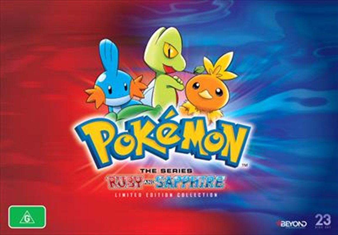 Pokemon - Ruby and Sapphire Region - Limited Edition | Collector's Gift Set | DVD