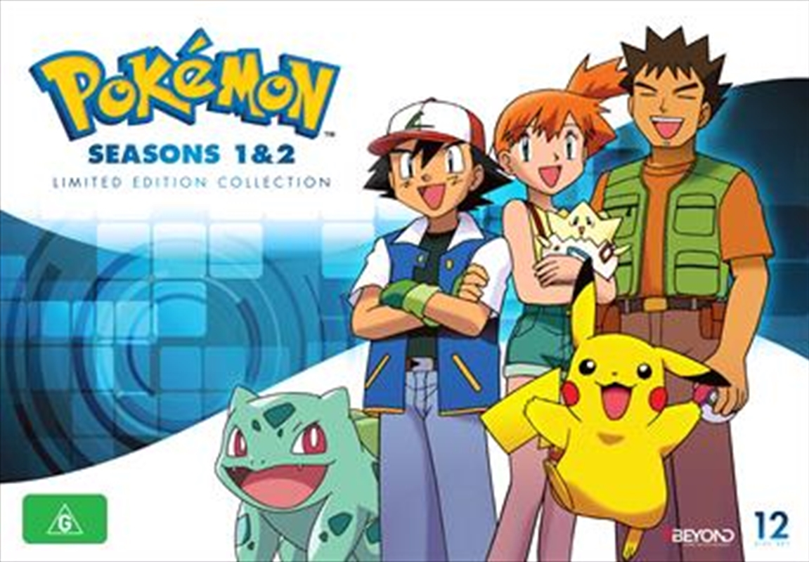 Pokemon - Season 1-2 - Limited Edition | Collector's Gift Set | DVD