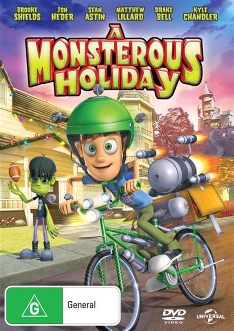 A Monsterous Holiday | DVD