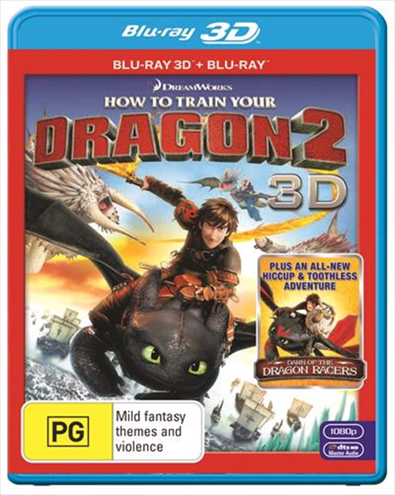 How To Train Your Dragon 2 | 3D + 2D Blu-ray