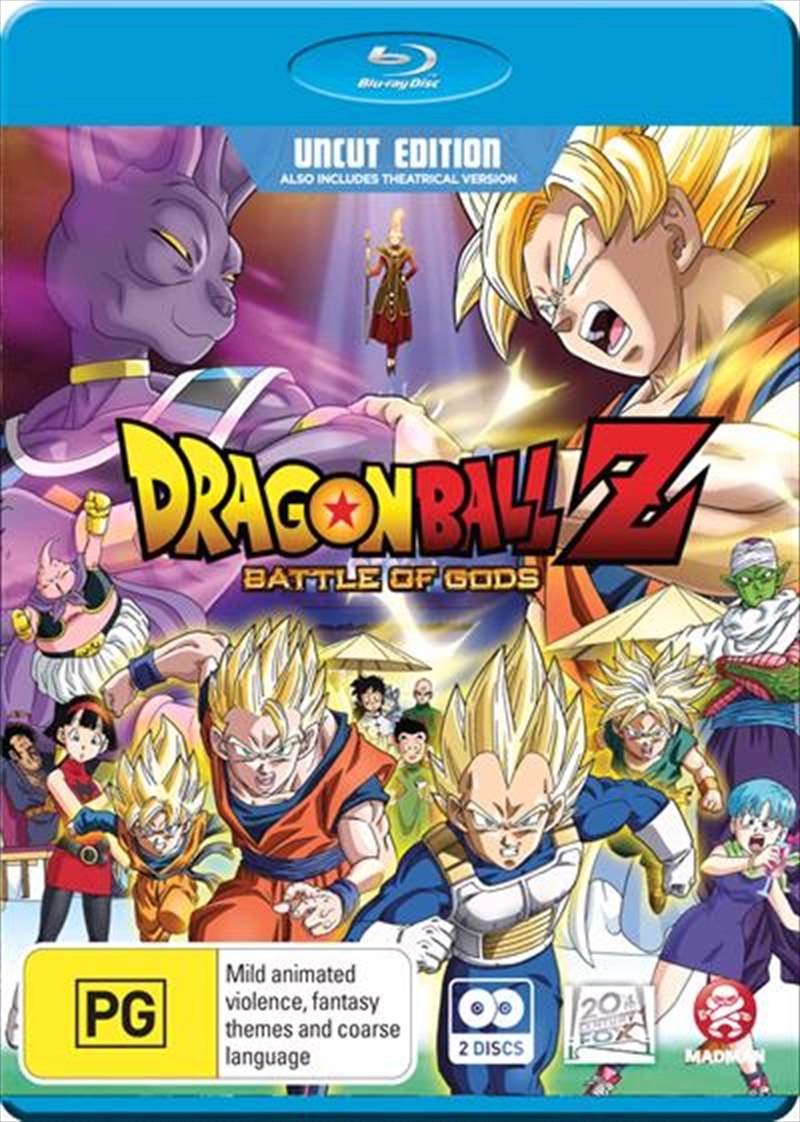 Dragon Ball Z - Battle Of Gods - Extended Edition   Blu-ray