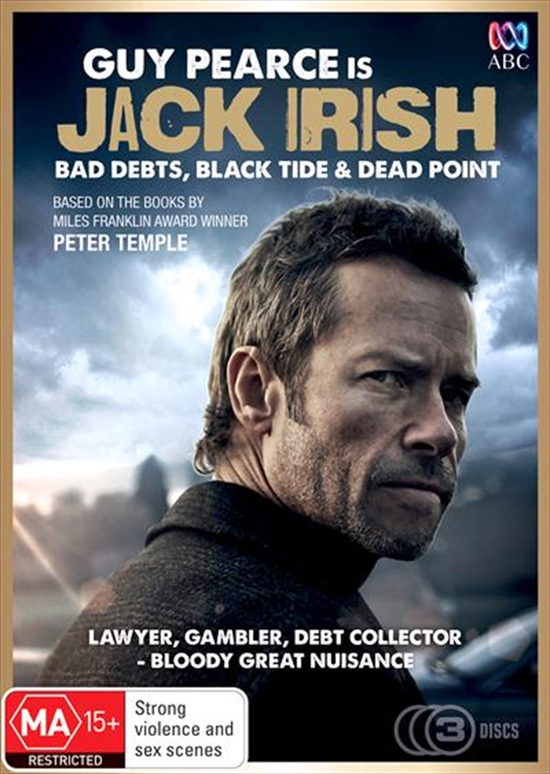 Jack Irish - Bad Debts / Black Tide / Dead Point | Triple Pack | DVD
