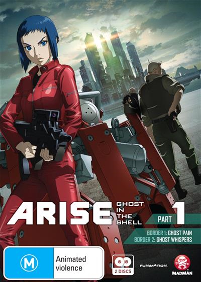 Ghost In The Shell - Arise - Part 1 | DVD