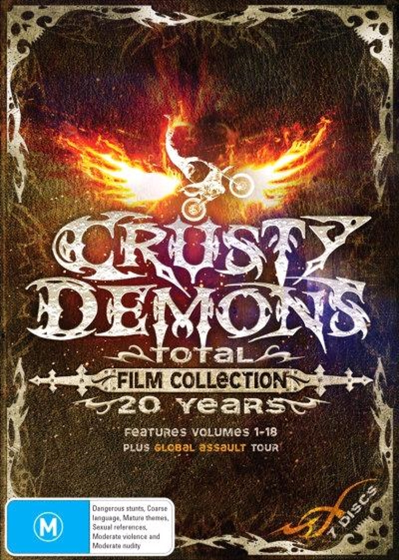 Crusty Demons - The Complete Film Collection Sport, DVD   Sanity