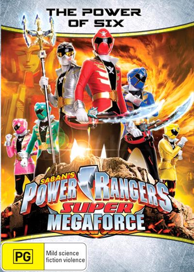 Power Rangers - Super Megaforce - The Power Of Six - Eps 7-13 | DVD