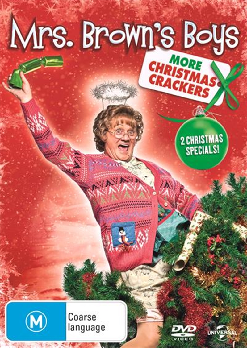 Mrs. Brown's Boys - More Christmas Crackers | DVD