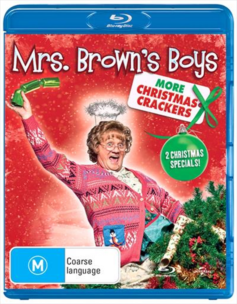 Mrs. Brown's Boys - More Christmas Crackers | Blu-ray