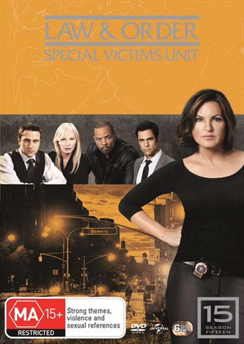 Law And Order: Special Victims Unit - Season 15 | DVD