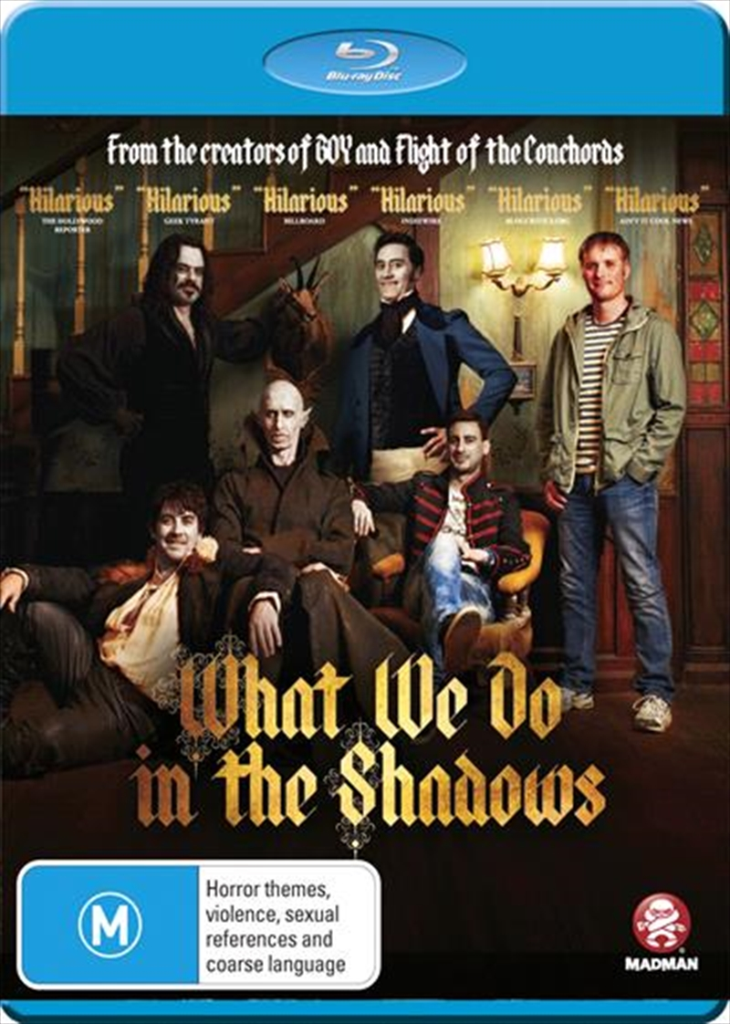 What We Do In The Shadows | Blu-ray