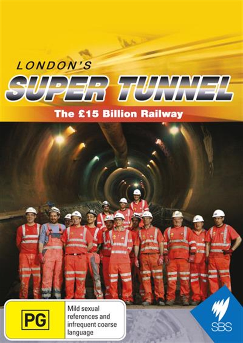 London's Super Tunnel - The 15 Billion Railway | DVD