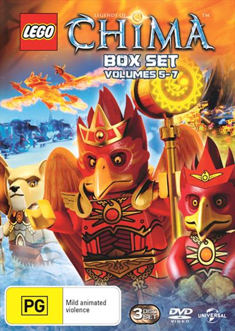 LEGO - Legends Of Chima - Season 2 - Vol 5-7 | DVD