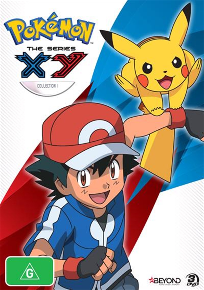 Pokemon - The Series X and Y - Collection 1 | DVD