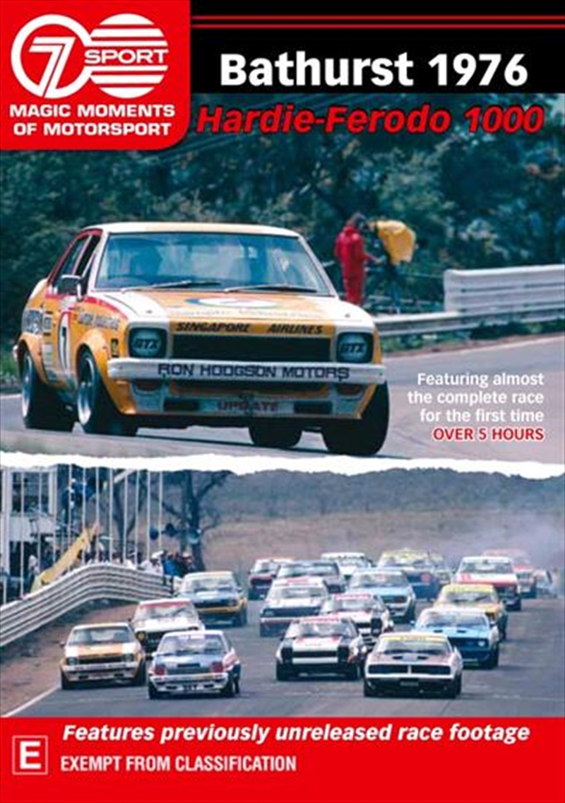 Magic Moments Of Motorsport - Bathurst 1976 | DVD