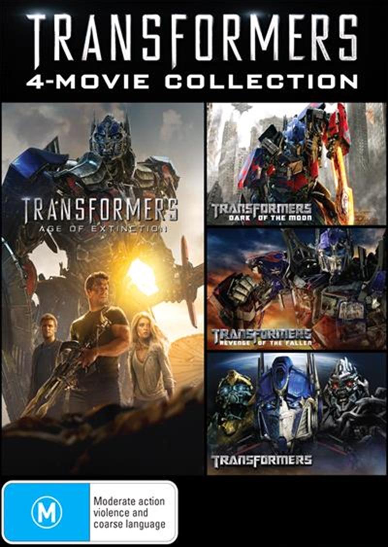 Buy Transformers Movie 1 4 Boxset On Dvd Sanity